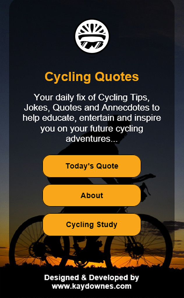 Cycling Quotes App